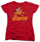 Womens: Mighty Mouse - I'm Mighty Shirts