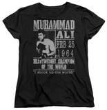 Womens: Muhammad Ali - Poster T-shirts