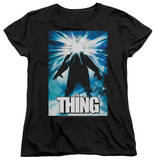 Womens: The Thing - Poster T-Shirt