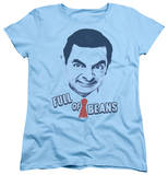 Womens: Mr Bean - Full Of Beans Shirts