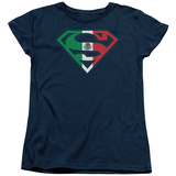 Womens: Superman - Mexican Shield T-shirts