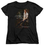 Womens: The Vampire Diaries - I Used To Care T-shirts