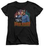 Womens: Star Trek - Party Like A Vulcan T-Shirt