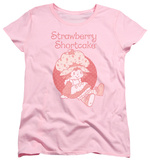 Womens: Strawberry Shortcake - Sitting Down Shirts
