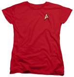 Womens: Star Trek - Engineering Uniform Shirt