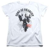 Womens: Sons Of Anarchy - Reapers Ride Shirts