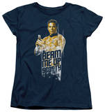 Womens: Star Trek - Beam Me Up T-shirts