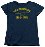 Womens: Star Trek - Enterprise Athletic Shirts