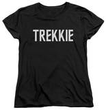 Womens: Star Trek - Trekkie T-shirts