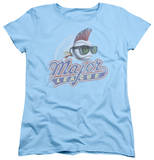 Womens: Major League - Distressed Logo T-Shirt