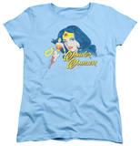 Womens: Wonder Woman - Portrait Shirts
