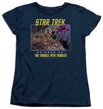 Womens: Star Trek - The Trouble With Tribbles T-shirts