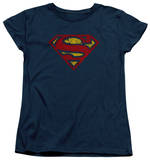 Womens: Superman - Crackle S Shirts