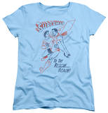 Womens: Superman - To The Rescue Shirt