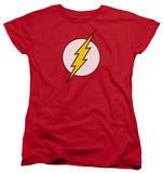Womens: The Flash - Flash Logo Shirts
