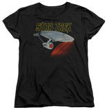 Womens: Star Trek - Retro Enterprise Shirt