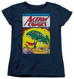 Womens: Superman - Action No. 1 T-shirts