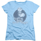 Womens: Popeye - Original Sailorman T-shirts