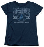 Womens: Star Trek - Starfleet Academy Earth Shirts