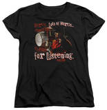 Womens: NCIS - Thanks For Listening T-shirts
