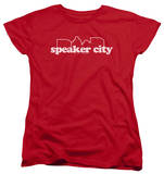 Womens: Old School - Speaker City Logo T-shirts