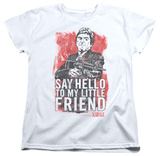 Womens: Scarface - Little Friend Shirts