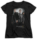 Womens: Person Of Interest - Cast T-shirts