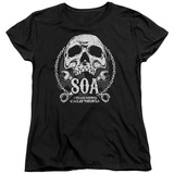 Womens: Sons Of Anarchy - SOA Club T-Shirt