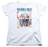Womens: Mama Mia - Poster T-Shirt