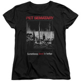 Womens: Pet Semetary - Cat Poster T-Shirt