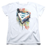 Womens: Superman - Urban Shields T-shirts