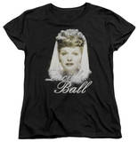 Womens: Lucille Ball - Glowing T-Shirt