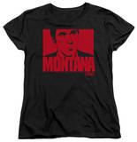 Womens: Scarface - Montana Face T-shirts