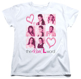 Womens: The Real L Word - Hearts T-Shirt