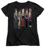 Womens: Star Trek - The Captains T-shirts
