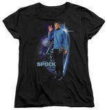 Womens: Star Trek - Galactic Spock T-Shirt