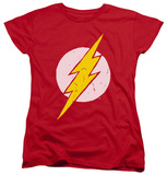 Womens: The Flash - Rough Flash Shirts