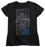 Womens: Slap Shot - Chalkboard T-Shirt