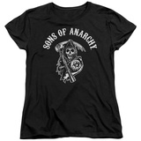 Womens: Sons Of Anarchy - SOA Reaper T-Shirt