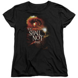 Womens: Lord Of The Rings - You Shall Not Pass T-Shirt