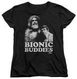 Womens: The Six Million Dollar Man - Bionic Buddies T-shirts