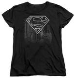 Womens: Superman - Skyline T-shirts