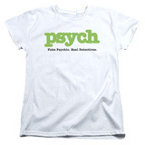 Womens: Psych - Title Shirts