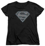 Womens: Superman - Checkerboard T-shirts