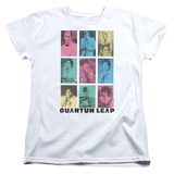 Womens: Quantum Leap - Faces Of Sam T-Shirt