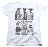 Womens: The Village People - Panels Shirts