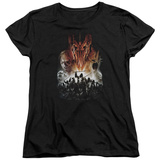Womens: Lord Of The Rings - Evil Rising T-Shirt