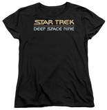 Womens: Star Trek - Deep Space Nine Logo T-shirts