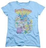 Womens: Superman - Super Friends No.1 Shirts