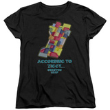 Womens: Quantum Leap - According To Ziggy T-shirts